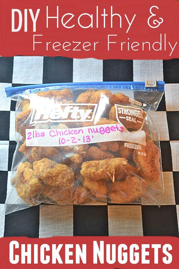 Diy Freezer Friendly En Nuggets
