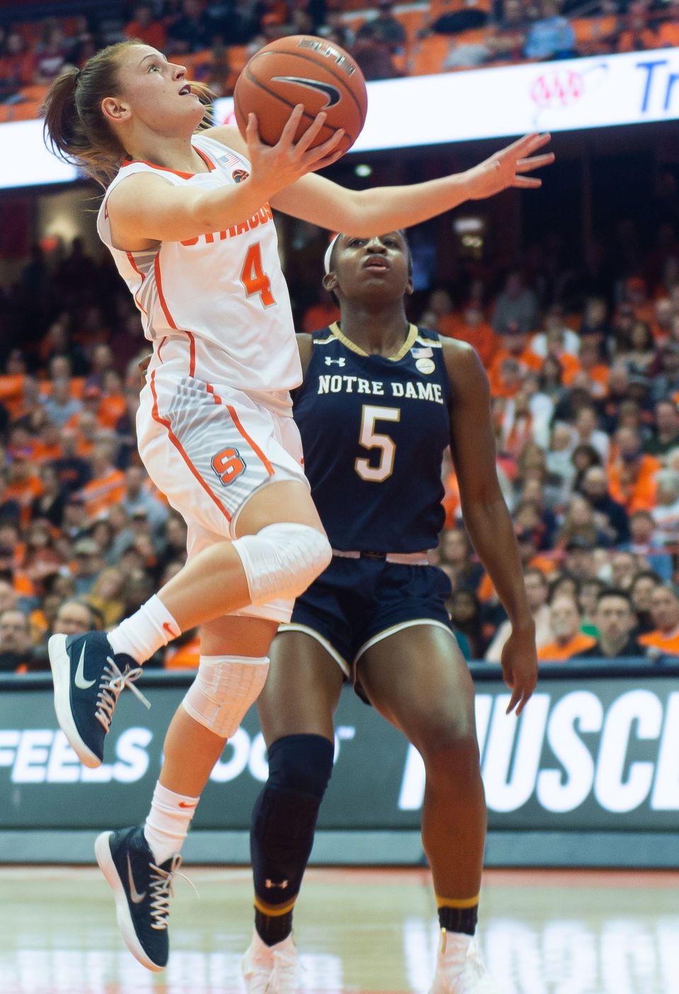 Photos Syracuse women's basketball vs. Notre Dame