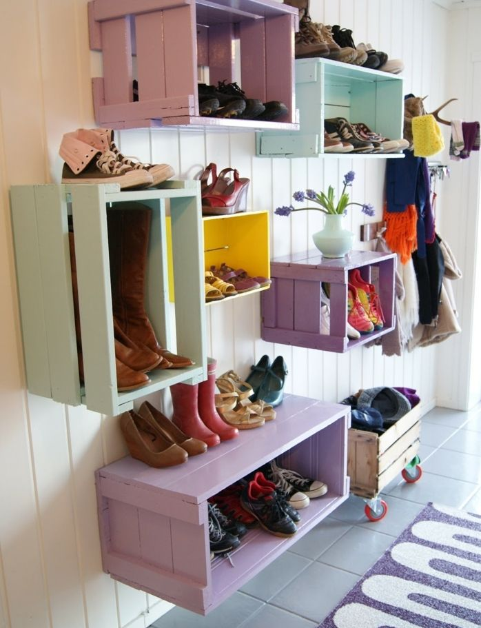 1001+ idées et tutos pour fabriquer un meuble en cagette charmant | Mobilier de salon, Meuble ...