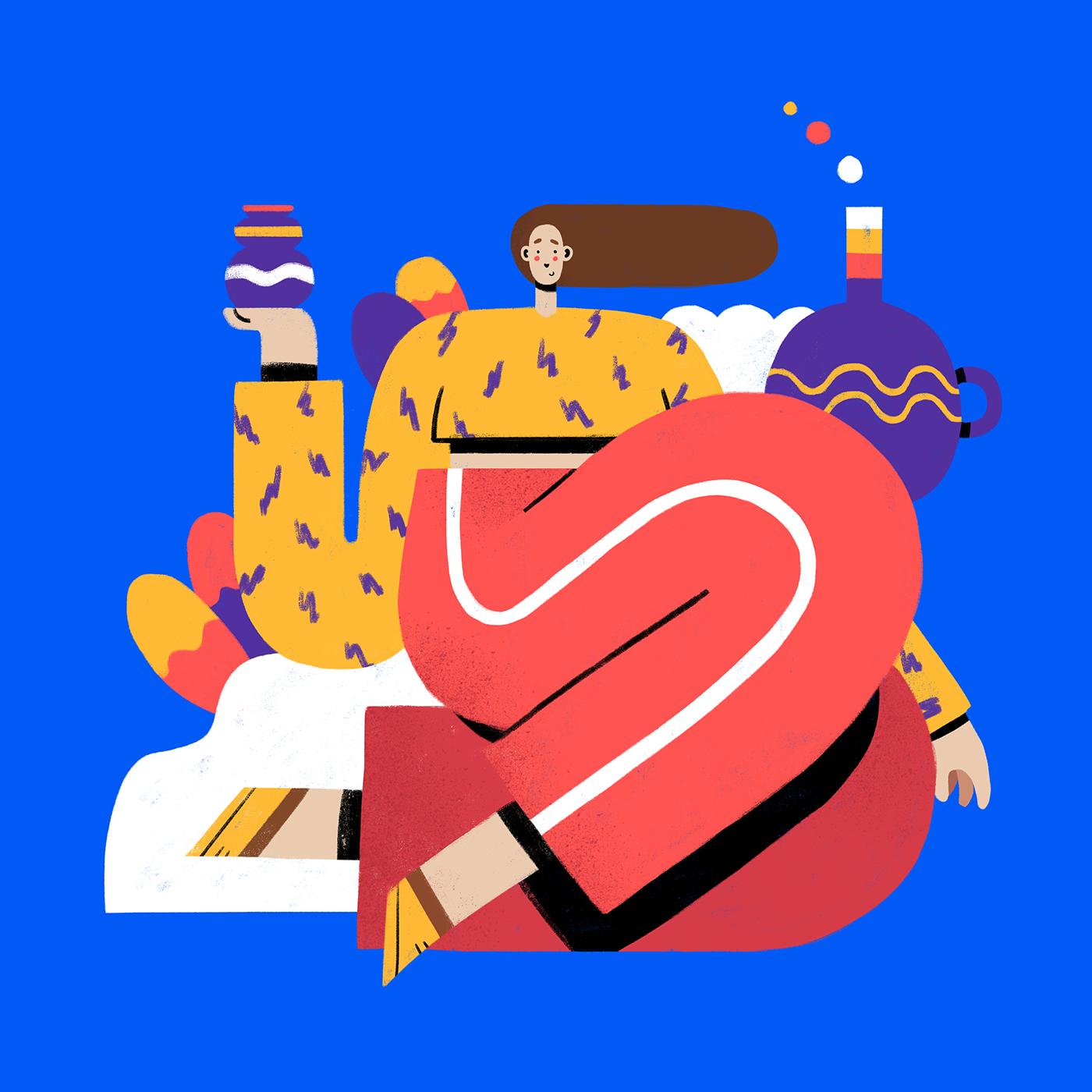 Lucas Wakamatsu on Behance Graphic design illustration