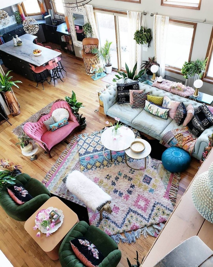Boho Style Interior Decor Ideas With Images Boho Style