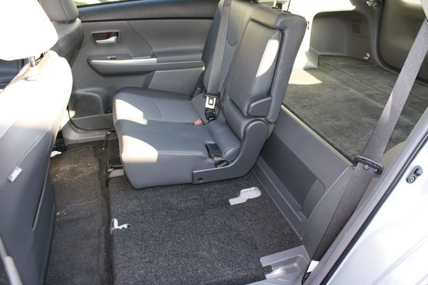 How To Remove The Rear Seats From A Toyota Prius V Prius