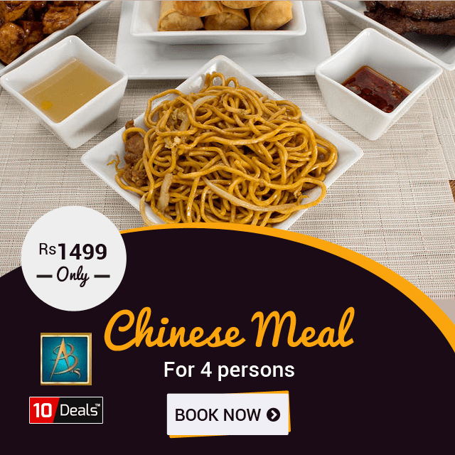 Avail An Amazing Discount On Chinese Meal And Enjoy Eating With Your Loved Ones At Abs Sector 26 Chandigarh Chinese Meal For 4 Pe Chinese Food Meals Meal Deal