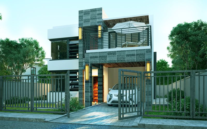 Pinoy house design is  two storey contemporary which speaks elegance and sophistication also min on pinterest rh