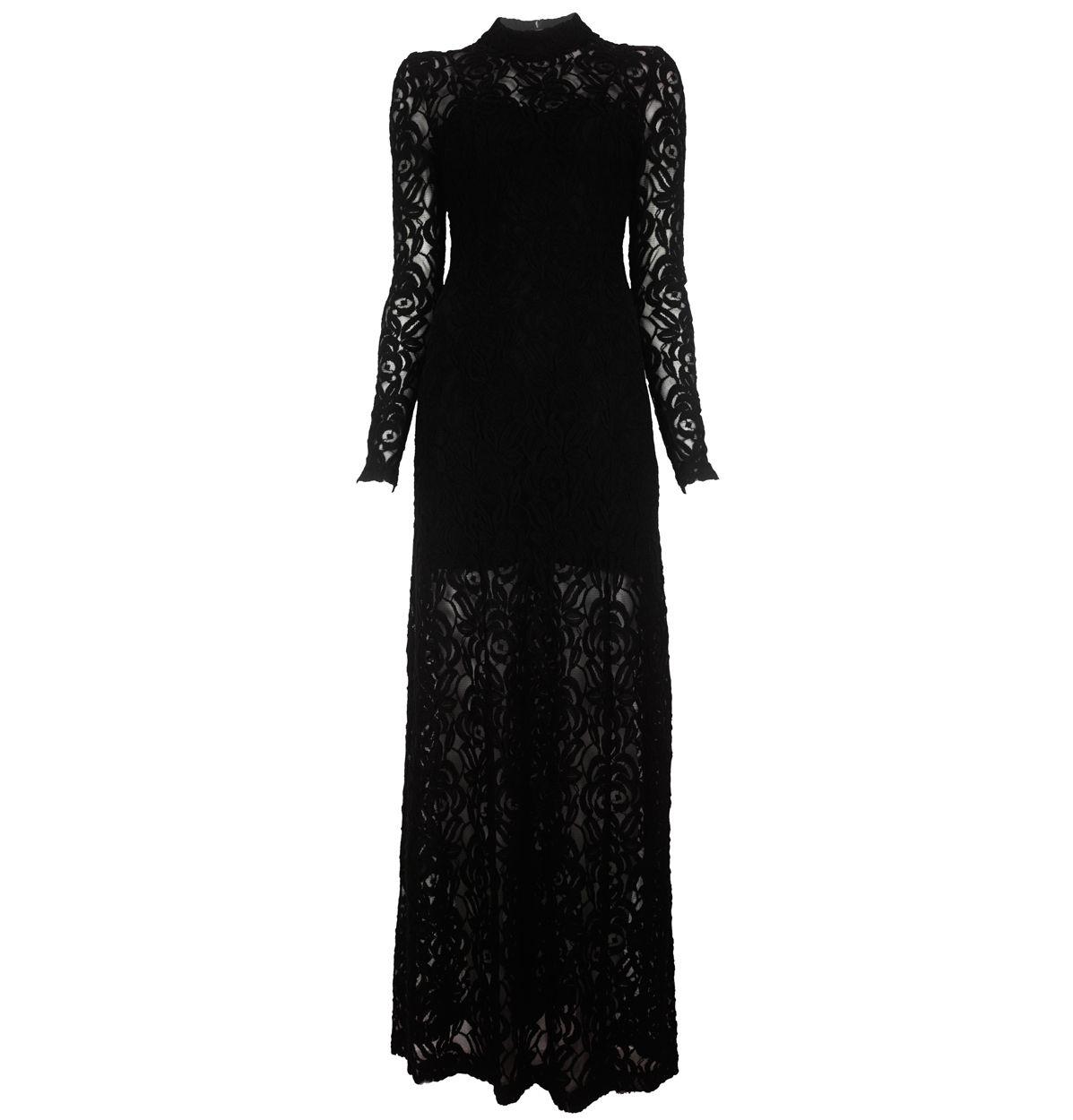 Gestuz black lace maxi dress clothes u accessories pinterest