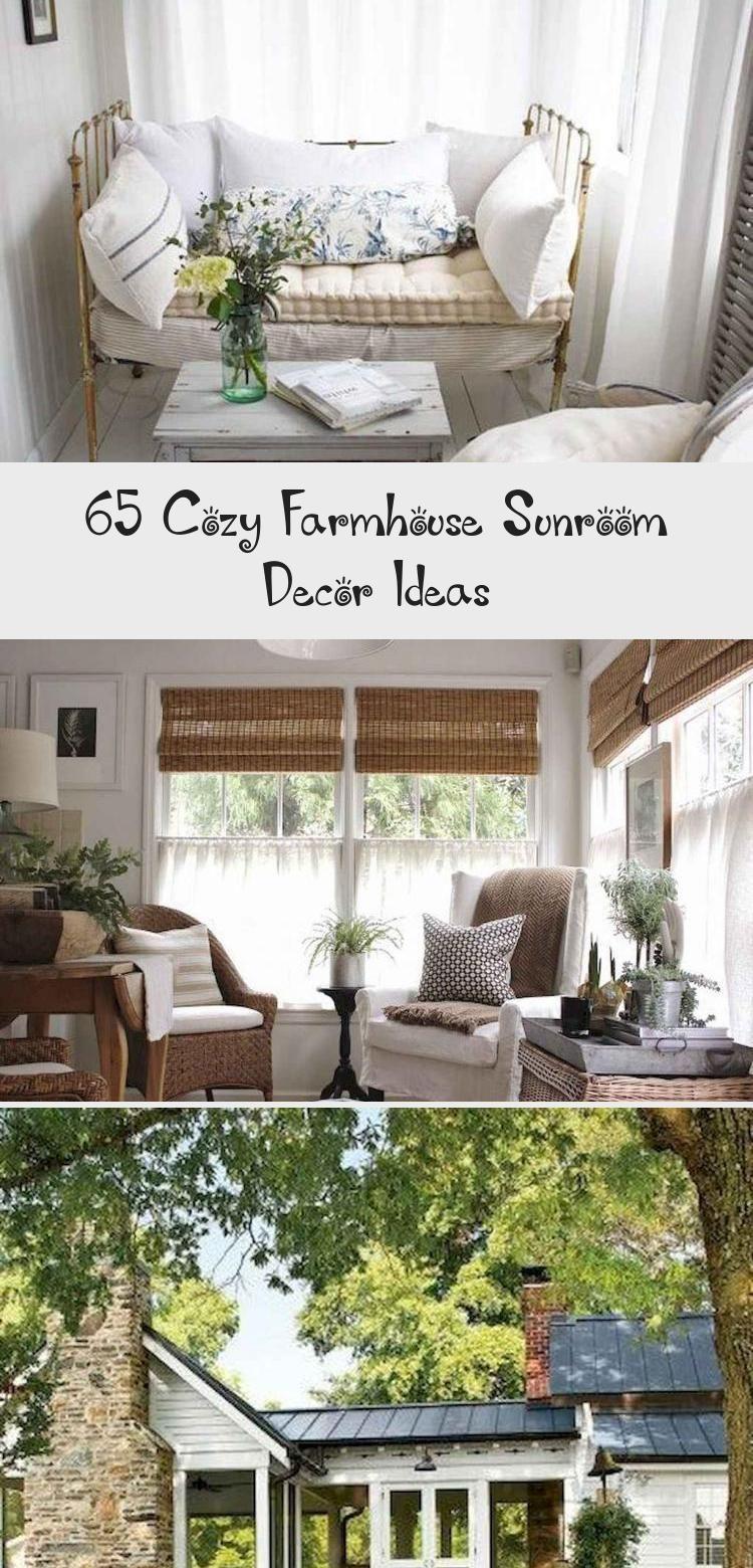 Photo of 65 Cozy Farmhouse Sunroom Decor Ideas – Garden