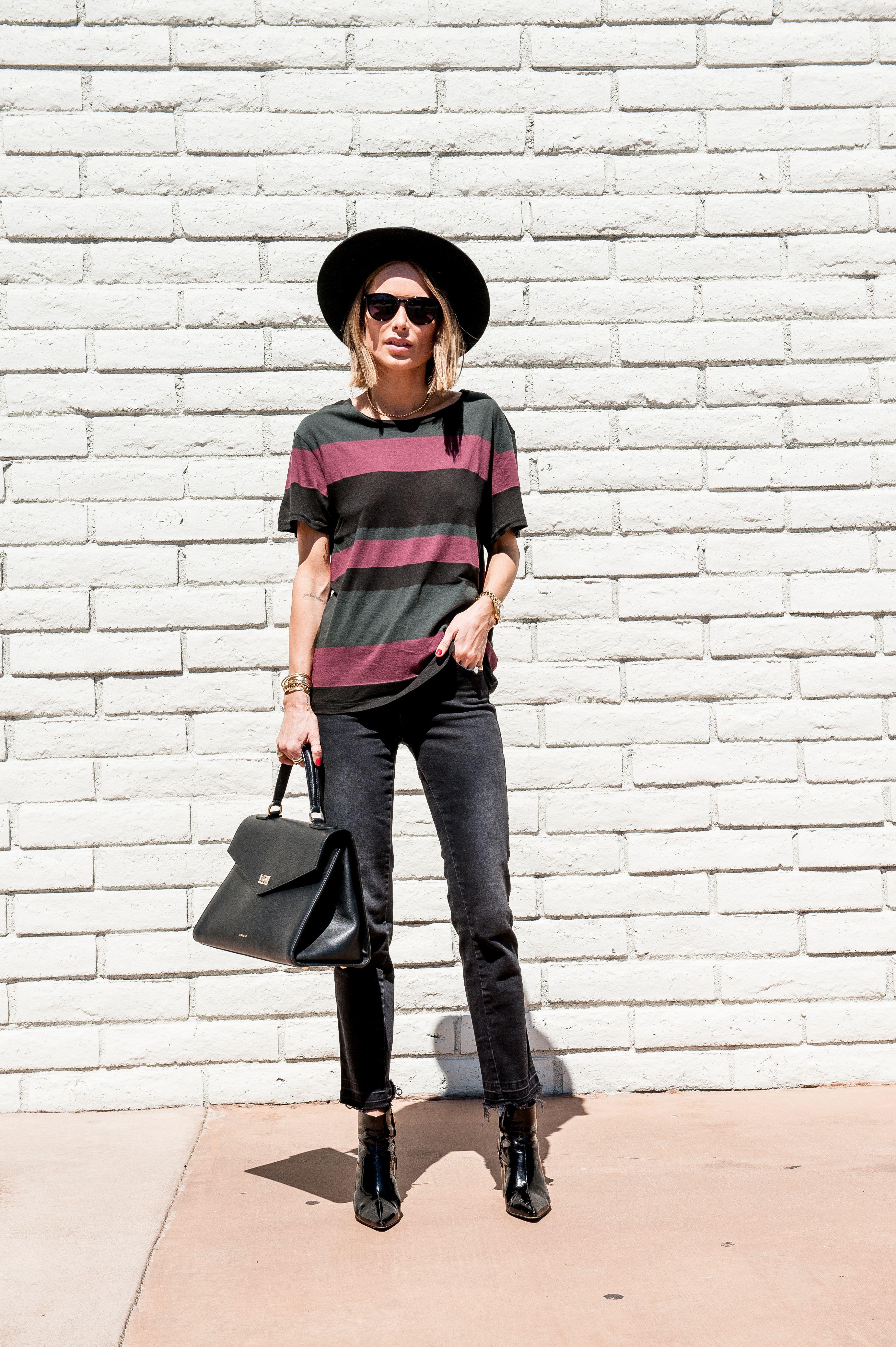 Hem Berlin anine striped t shirt anine berlin sunglasses anine