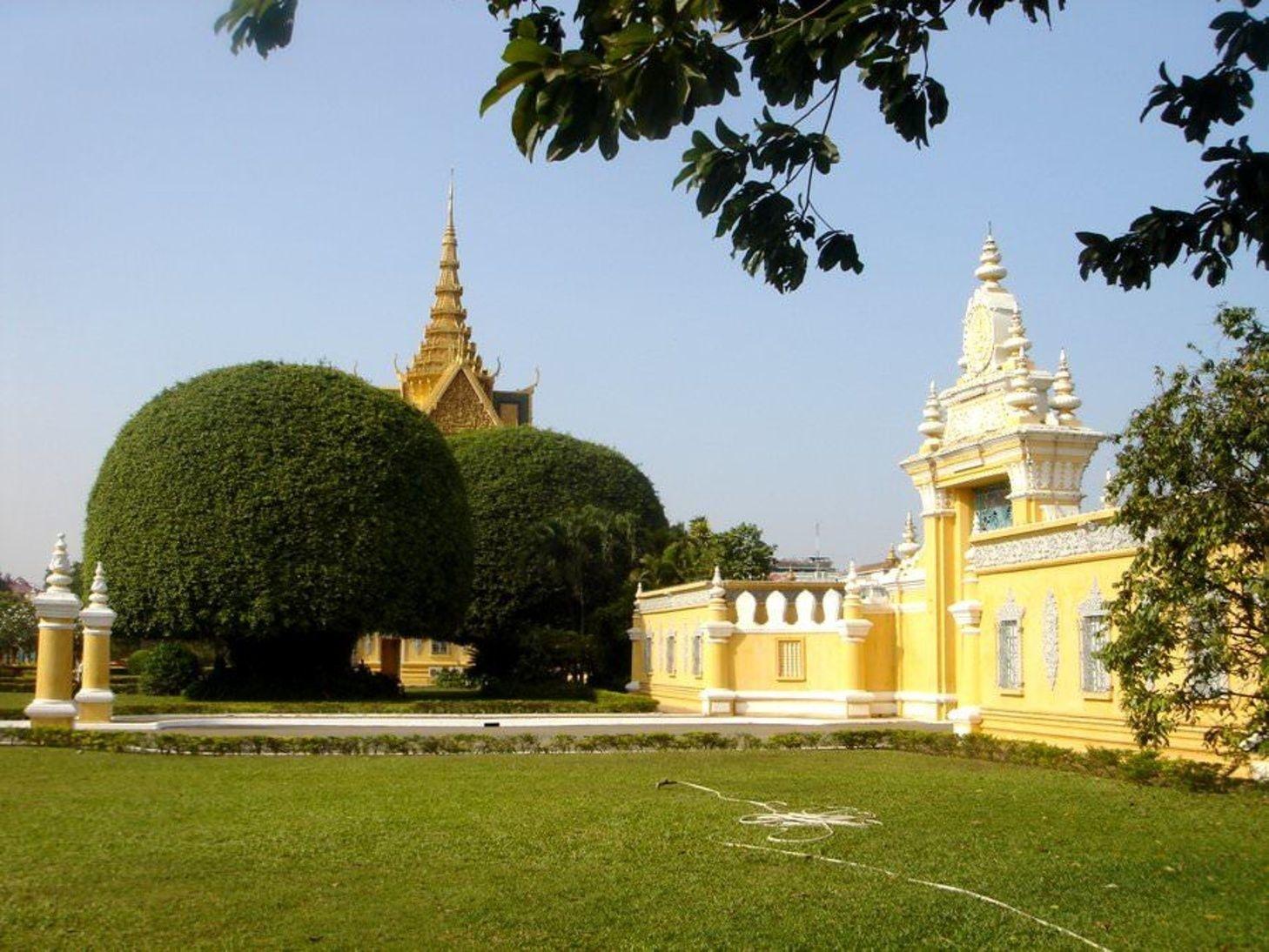 The Royal palace #Phnompenh #cambodia