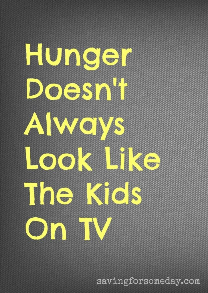 Quotes About Hunger Beauteous What Does Childhunger Look Like Most Of Us Would Be Surprised