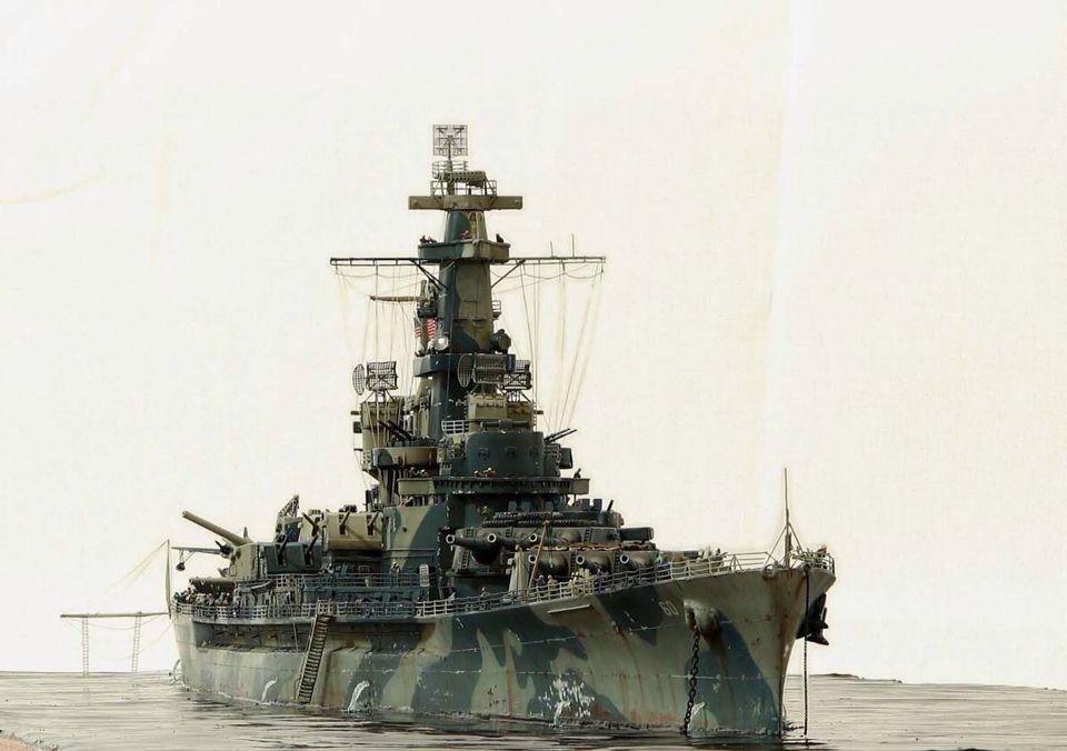 USS Alabama BB-60 by Kostas Katseas