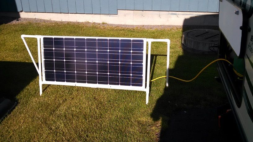 Connecting A 100 Watt Solar Panel To Zamp Port R Pod