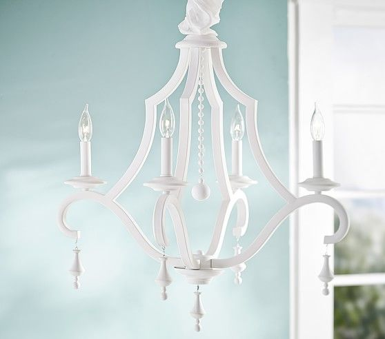 Pottery barn kids chandeliers make a beautiful addition to a bedroom or nursery find chandelier lighting and light up the room in style