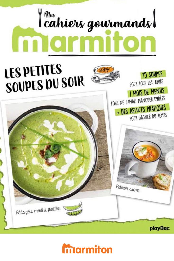 Nouveau Livre Marmiton Le Cahier Gourmand Special Soupes