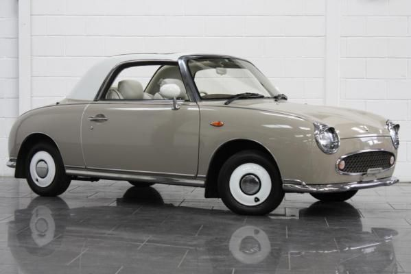 Hopefully in 9 months time this will be my new car!! Nissan Figaro!