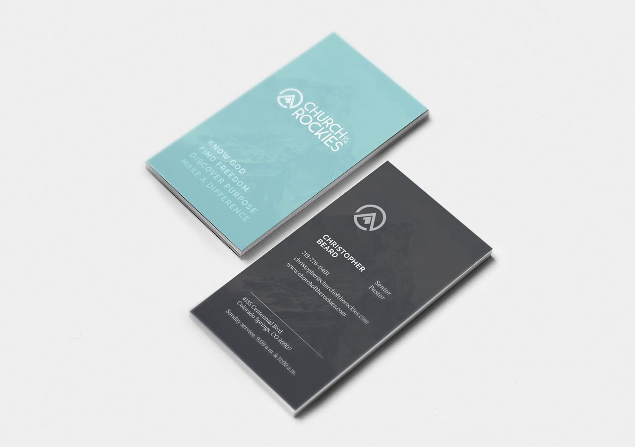 Church brand collateral business card design church marketing church brand collateral business card design church marketing vertical business cards kettle fire creative colourmoves
