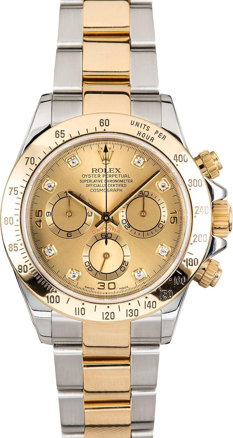 Used Rolex Daytona >> Used Rolex Daytona Two Tone 116523 In 2019 Watches Rolex Rolex