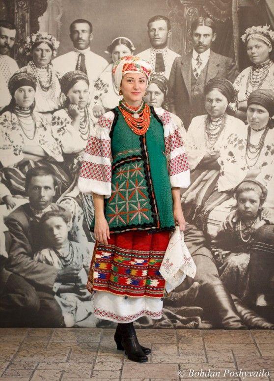Ukrainian national attire; nor...