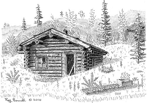 Image Result For Draw A Simple Barn Cabin Art Barn Drawing