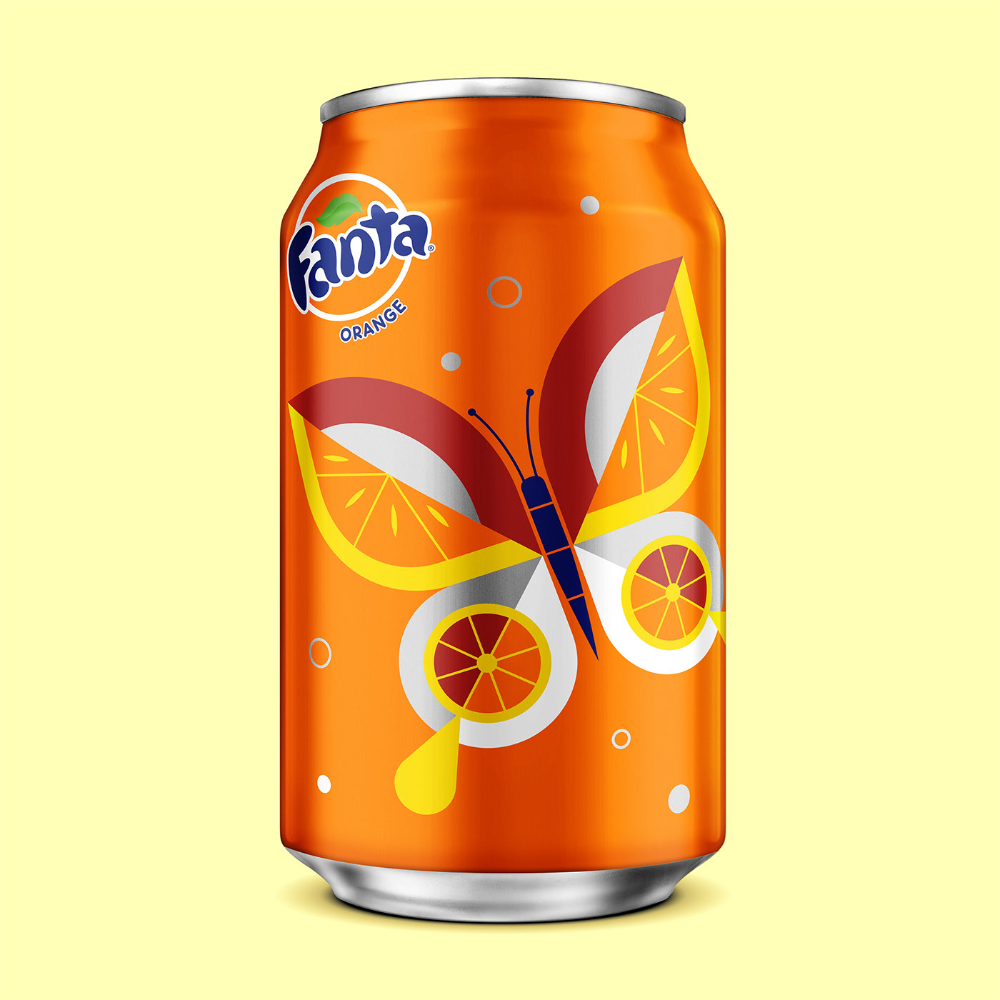 Fanta Halloween Cans 2020 FANTA Spring on Behance in 2020 | Fanta, Fanta can, Rc cola can