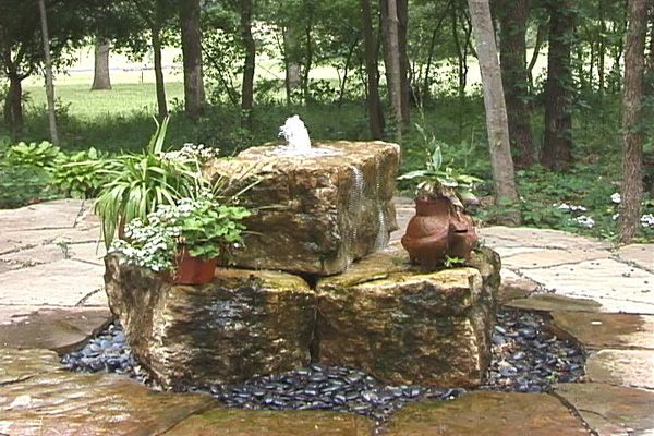 Pin By Sublimewatergarden On Water Art Fountains Bubbling Vases Outdoor Water Features Water Features In The Garden Custom Water Feature