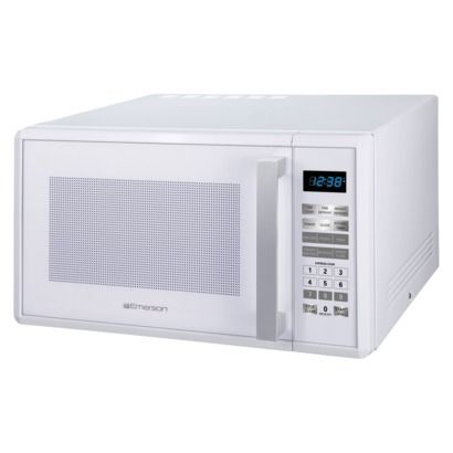 Emerson Microwave Oven - White, Price Cut $79