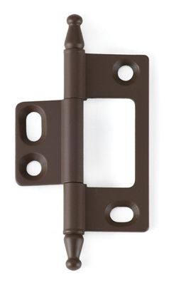 Superior Inset Non Mortise Cabinet Hinge In Old Antique (oil Rubbed Bronze)