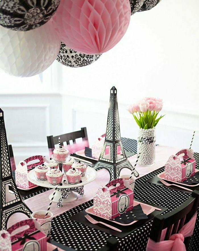 D corer la table avec un set de table jetable set de - Set de table jetable ...