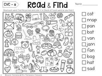 Free Hidden Picture Activities 1st Grade First Day Of School