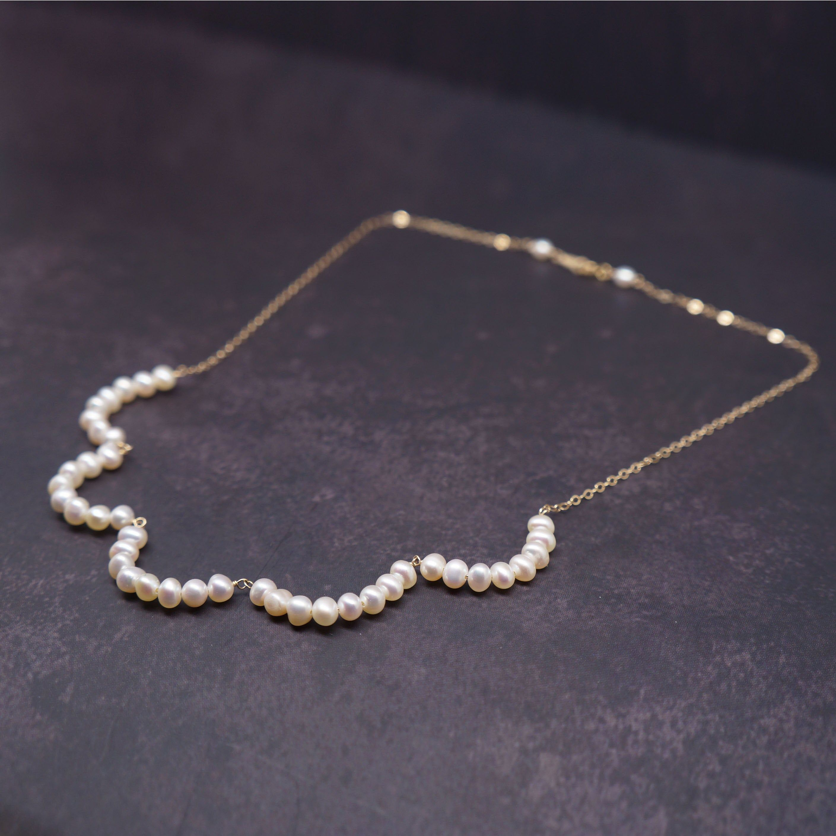set in 14kt Gold Filled wire. Fresh Water Pearl Wire Wrapped Gemstone Pendant Handmade Button Pearl Pendant