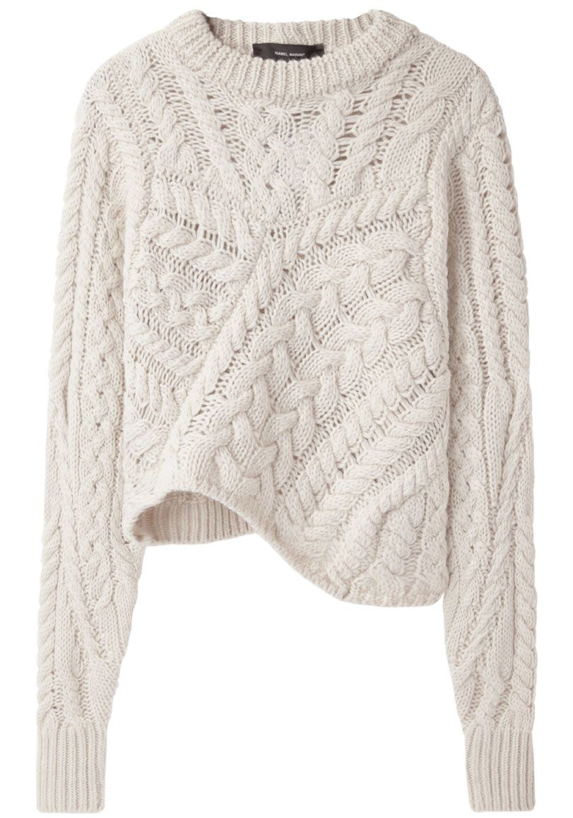 Cable Knit Sweater / Isabel Marant | Style : Fall   Winter ...