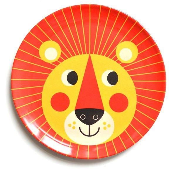 What to buy for an Animal-Obsessed Toddler OMM Design Lion melamine plate.  sc 1 st  Pinterest & What to buy for an Animal-Obsessed Toddler: OMM Design Lion melamine ...