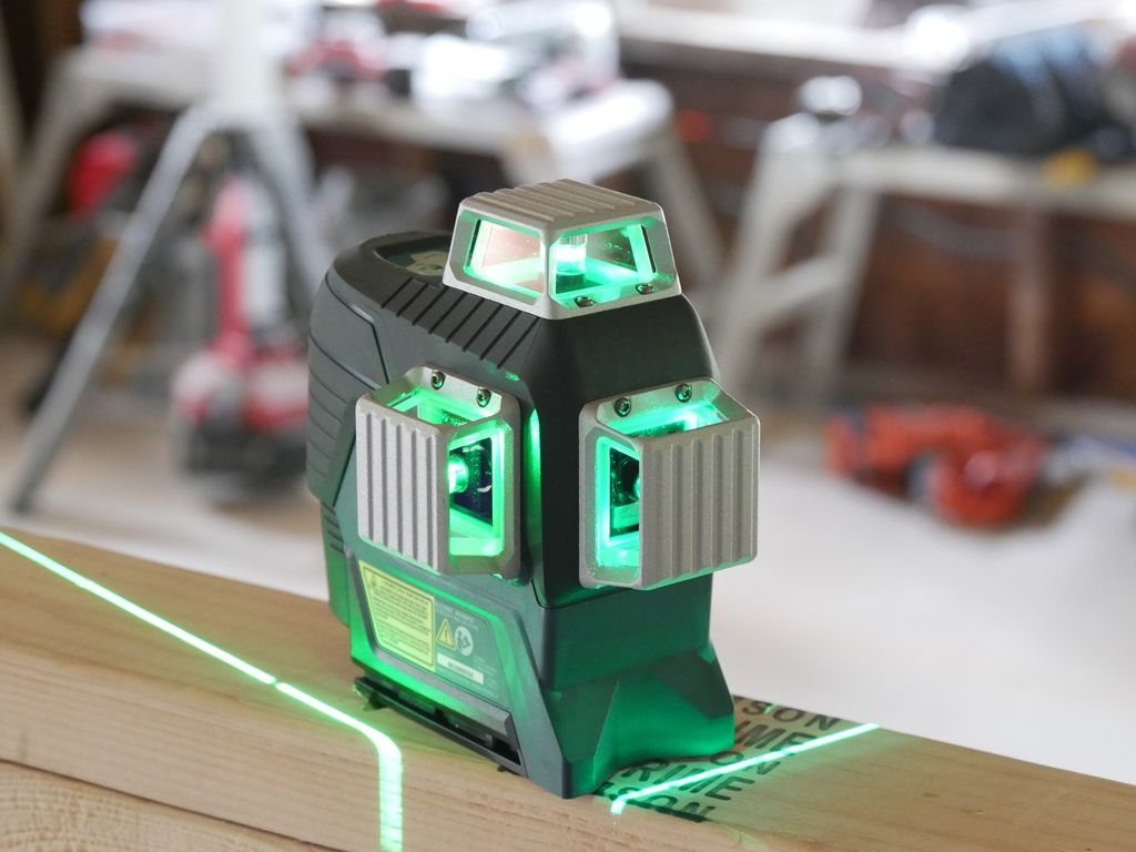 Bosch 360 Green Laser Review Green Laser Cheap Power Tools Woodworking Power Tools