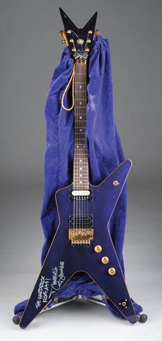 darrell dimebag abbott 39 s washburn dime 3 crown royal guitars music guitar dean guitars guitar. Black Bedroom Furniture Sets. Home Design Ideas