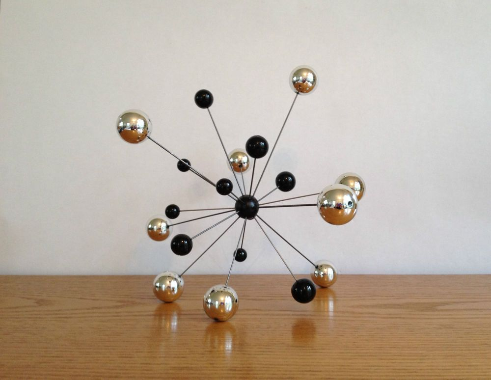 Sculture Mobili ~ Atomic molecular art burst sculpture mobile ornament molecule mcm