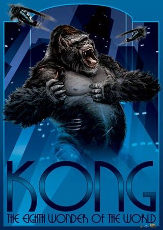Eighth Wonder Of The World King Kong King Kong Art King Kong