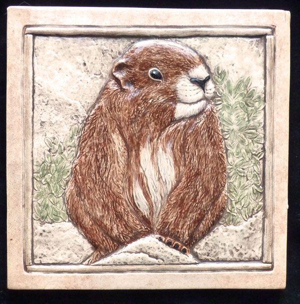 carved ceramic tile | EarthSong Tiles:Decorative handmade Animal & wildlife Art tiles