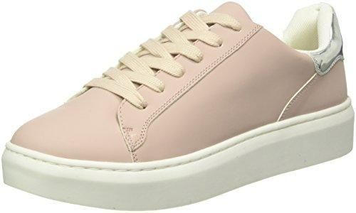 Another Pair of Shoes Tessa E1 - Zapatillas Mujer, Blanco (White/Silver 565), 36
