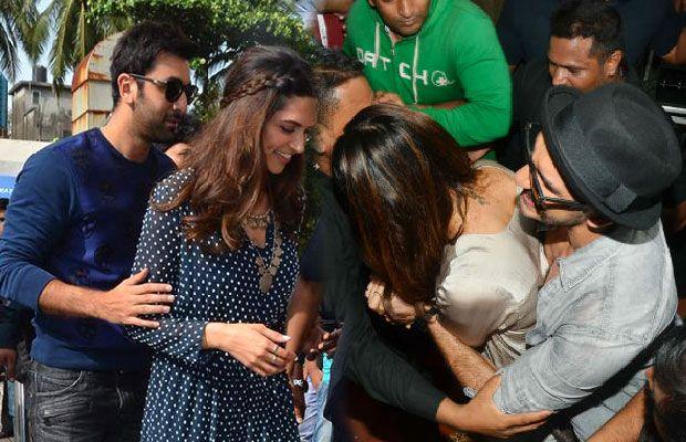 Ranbir Kapoor And Ranveer Singh Fight It Out For Deepika Padukone Ranveer Singh Deepika Padukone Ranbir Kapoor