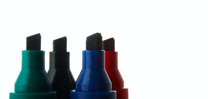 Markers Color Light Hair Better Than Dark Hair Write On Glass Marker Stain Permanent Pens