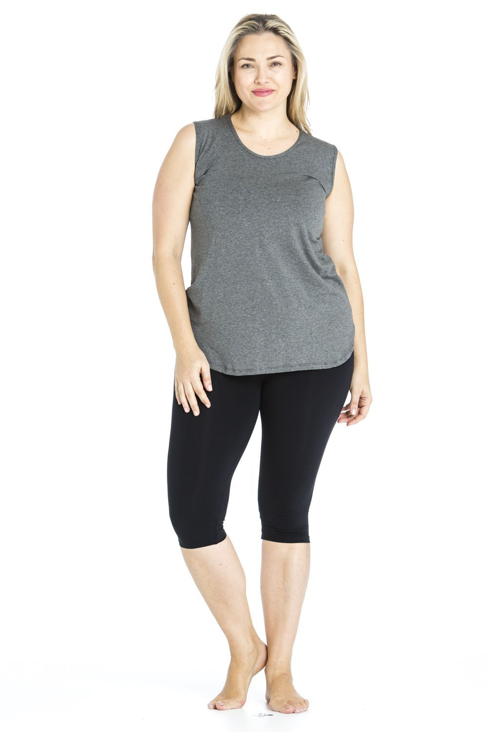 A workout top that is comfortable and versatile. Wear for