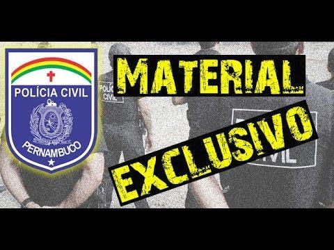 Apostila Policia Civil Pe Varios Cargos Exclusiva Concursos