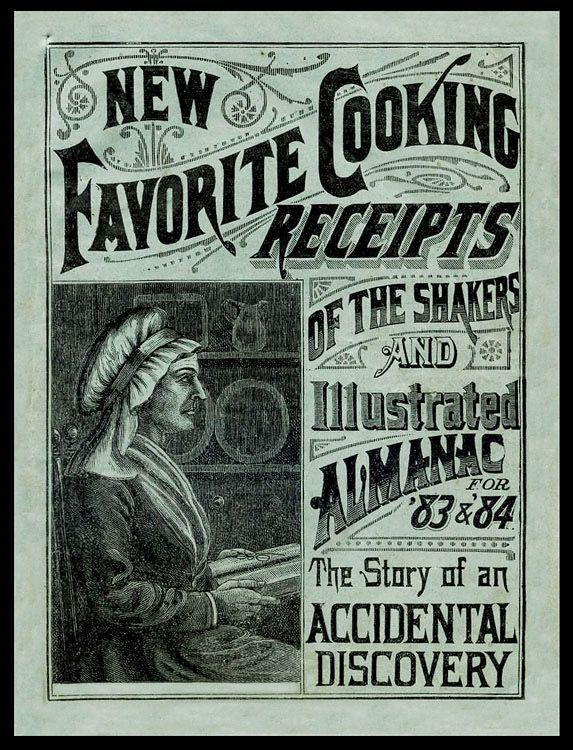 New Favorite Cooking Receipts Sic Sheaff Ephemera Vintage