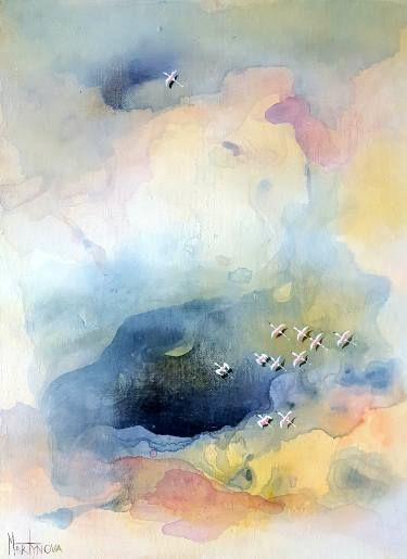 Saatchi Art Artist M A R T Y N O V A Aerial Painting Earth Above Art Painting Art Abstract Painting