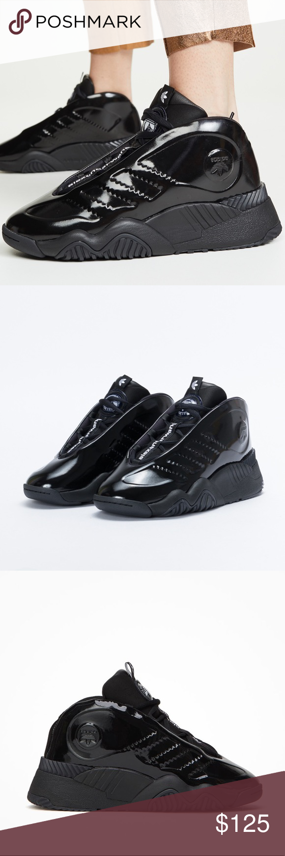 Quagga cirujano balsa  adidas x Alexander Wang Futureshell ADIDAS ORIGINALS BY AW FUTURESHELL  SHOES Sweat it out with A… in 2020 | All black sneakers, Shoes sneakers  adidas, Performance inspired