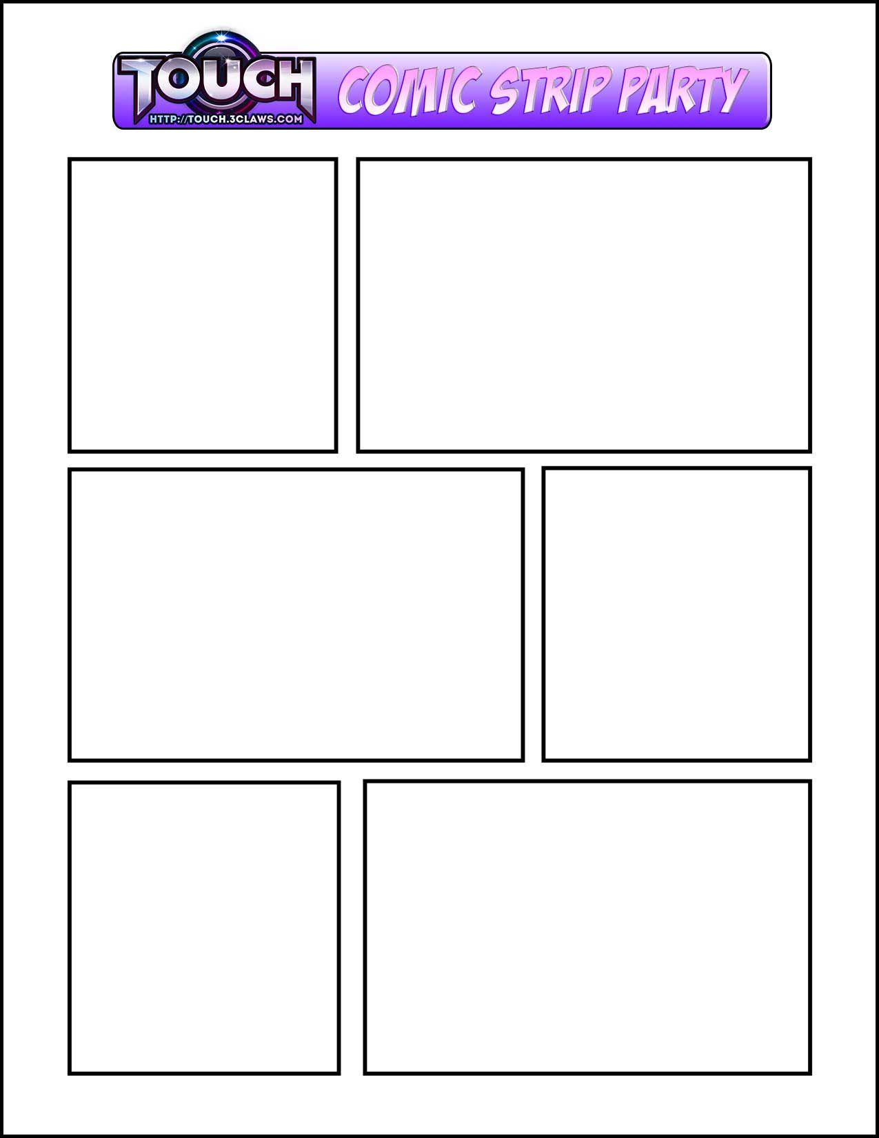 TC ComicStripTemplate  Ideas For The House    Comic
