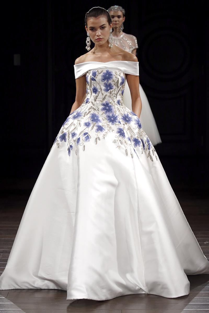 Naeem Khan  #vestidos #novia #color