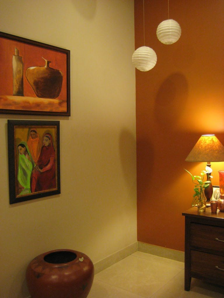 Colour play. | Indian Ethnic Home Decor | Pinterest | Plays, Wall ...