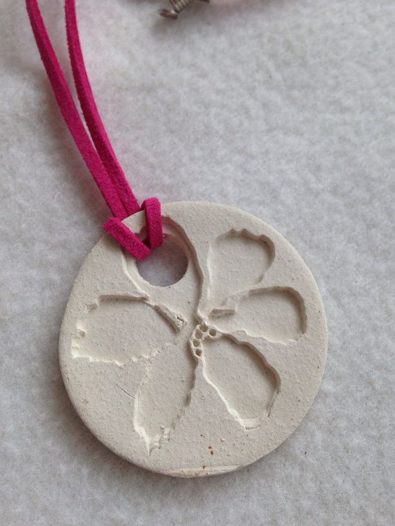 White flower essential oils diffuser necklace 1 34 inch buff clay white flower essential oils diffuser necklace 1 34 inch buff clay disc aromatherapy mightylinksfo