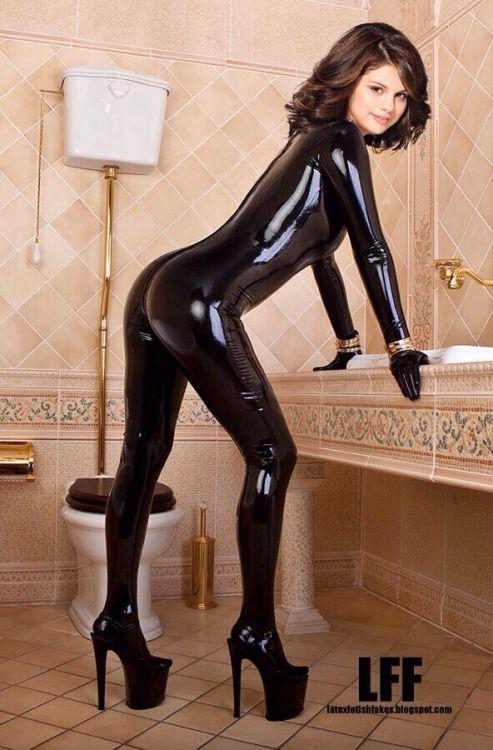 Latex Leggings Erotisk Dans