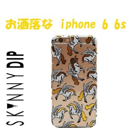 【即納】  ゴールドユニコーン  iphone 6 6s  ケース skinnydip
